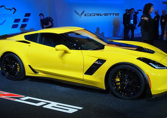 Corvette al Salone di Detroit 2014