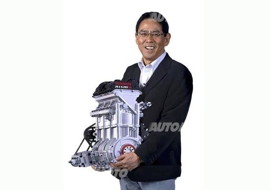 Nissan Zeod RC: svelato il motore per Le Mans. Pesa solo 40 kg