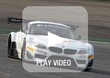 Alex Zanardi in pista per la prima volta con la BMW Z4 GT3. Il video