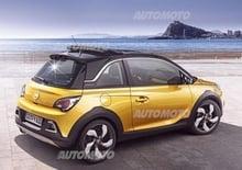 Opel Adam Rocks: a Ginevra la versione di serie