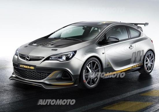 Opel Astra OPC Extreme: tutte le immagini e i dettagli