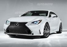 Lexus RC F Sport: pacchetto sportivo per la nuova coupé