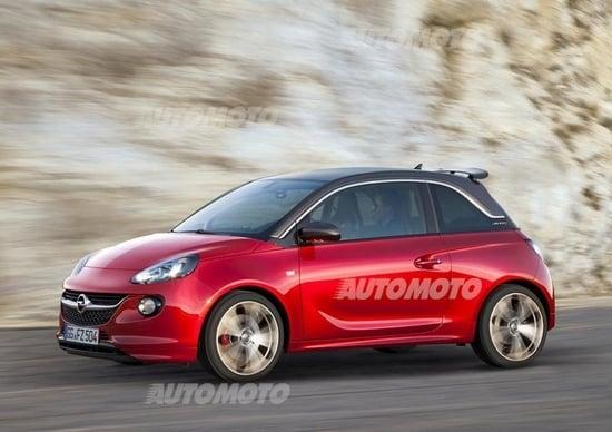 Opel Adam S: ecco la versione sportiva da 150 CV