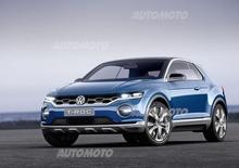 Volkswagen T-ROC concept: come saranno i futuri crossover di Wolfsburg