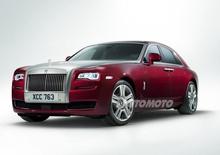 Rolls Royce Ghost Series II: leggero restyling nel segno del lusso