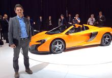 Della Casa, McLaren: «650S? Abbiamo estremizzato la 12C, anche con un pizzico di fantasia»