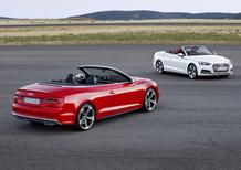 Audi A5 e S5 Cabrio, al via le prevendite