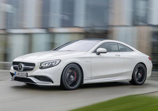 Mercedes-Benz S 63 AMG Coupé: 585 CV per l'auto che piega come una moto
