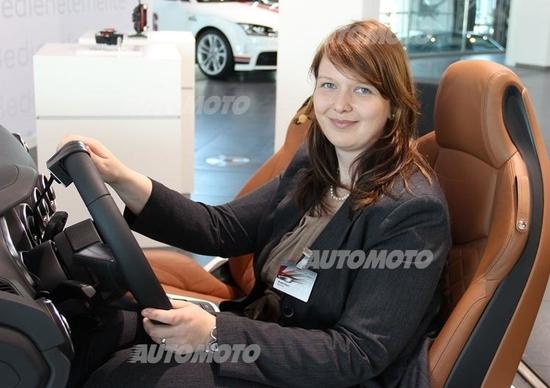 Nitsch, Audi: «Un maxi-display tutto per il guidatore. Ecco il Virtual Cockpit della nuova TT»
