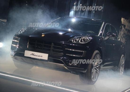 Porsche Macan arriva in Italia: eccola in anteprima a Milano