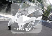 Toyota i-Road: inizia il collaudo del tre ruote elettrico. Guardate come piega!