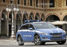Peugeot: una 508 RXH a disposizione della Polizia Stradale