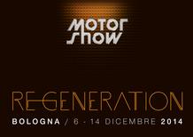 Motor Show di Bologna 2014: sarà una Re-Generation, dal 6 al 14 dicembre