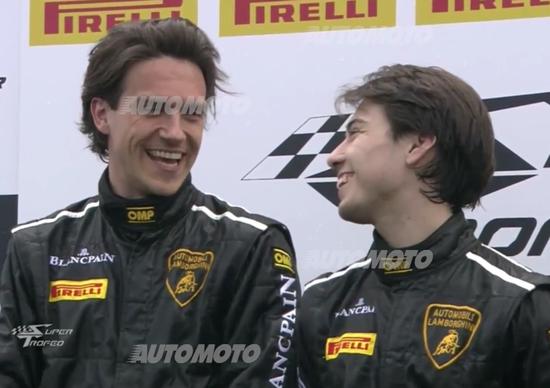 Lamborghini Super Trofeo, Monza. Pavlovic: «Mai smettere di lottare. Carpe diem»