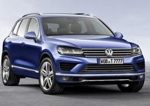 Volkswagen Touareg restyling: nuovo look e motori più efficienti