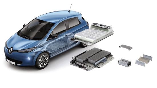 Il nuovo pacco batterie di Renault Zoe
