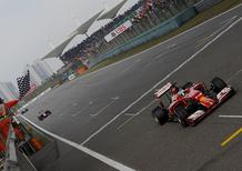 Formula 1 Cina 2014: la bandiera precoce. La gara è finita un giro prima