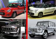 Salone di Pechino: arrivano i cloni cinesi di Fiat 500L e Mercedes Classe G