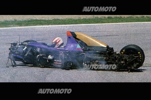 25° morte Roland Ratzenberger: 30 aprile nero per la F1 [video] (7)
