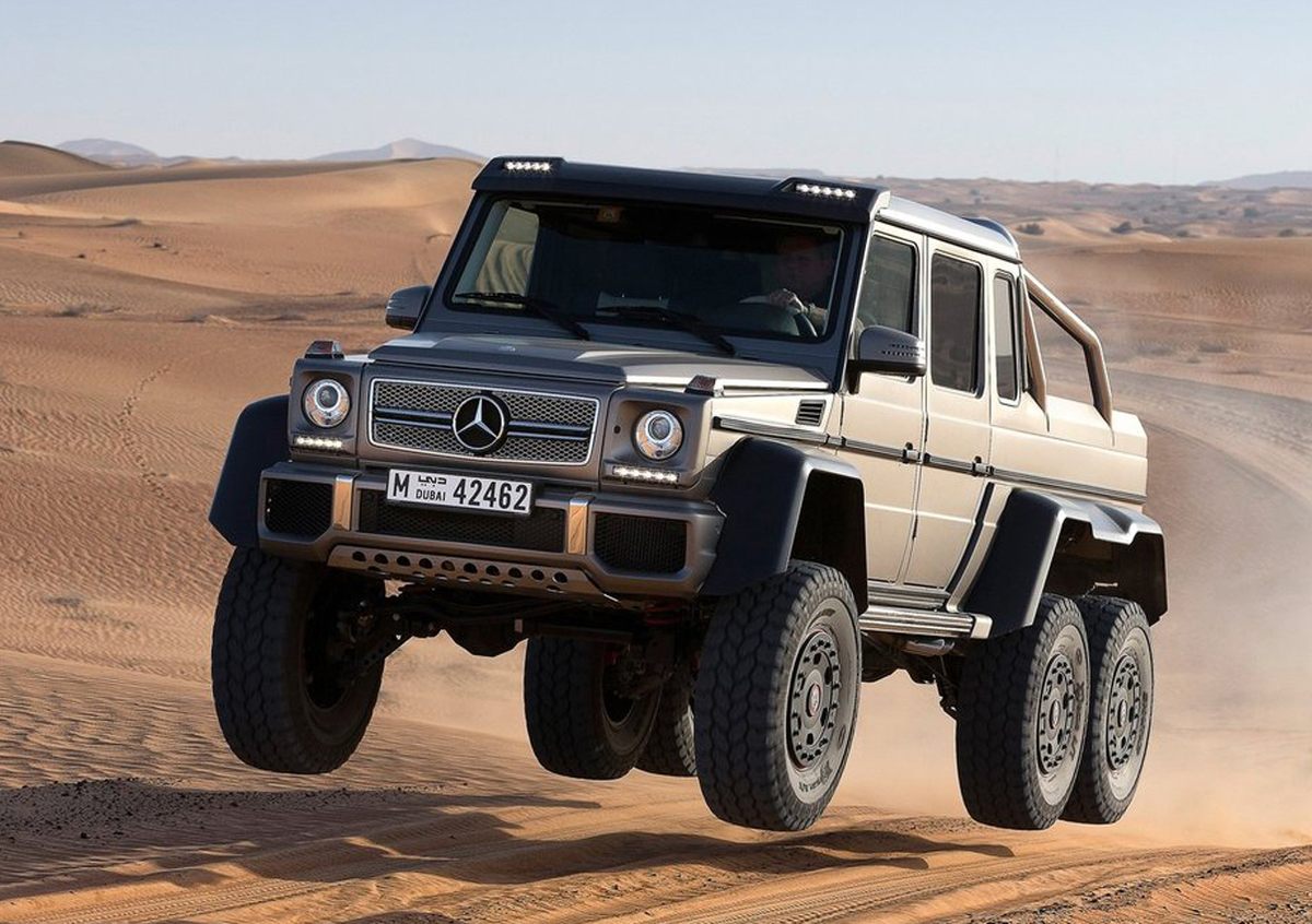 Mercedes G 63 Amg 6x6 Arrivano I Prezzi E Sono Da Capogiro