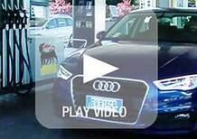 Audi A3 g-tron: nessun limite, il pieno di metano diventa self-service