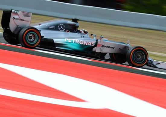 Formula 1 Spagna 2014: Hamilton conquista la pole a Barcellona