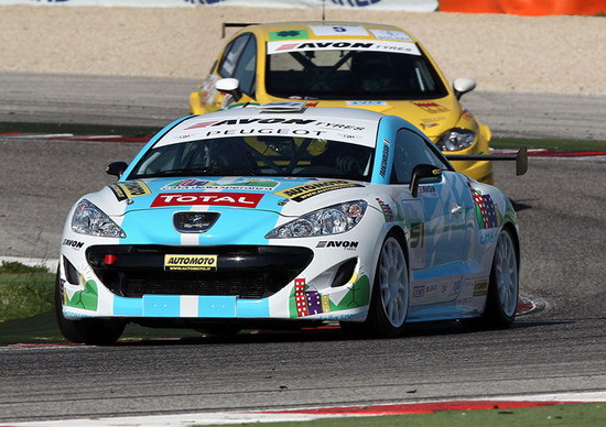 Peugeot RCZ Cup, Misano. Qualifiche: «Vado bene ma devo frenare prima»