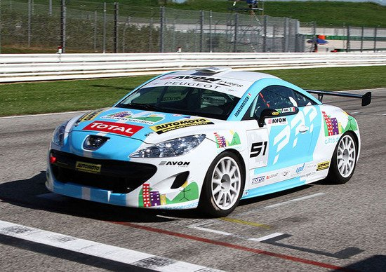 Peugeot RCZ Cup, Misano. Gara 1: «Le Super 2000 sono a portata di tiro»
