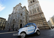 car2go: il car-sharing di smart sbarca a Firenze