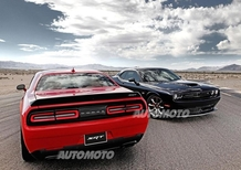 Dodge Challenger SRT e Challenger SRT Hellcat: fate largo ai V8