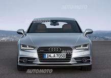 Audi A7 ed S7 Sportback restyling