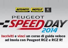 Peugeot Speed Day 2014: iscriviti e vinci un corso di guida veloce a Imola!