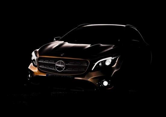 Salone di Detroit: arriva la Mercedes GLA restyling