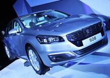 Peugeot 508 restyling: nuovi motori e look in salsa led