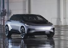 """Faraday Future FF 91, ecco come è fatta la """"anti Tesla"""" [Video]"""