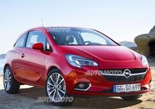 Nuova Opel Corsa: eccola senza veli