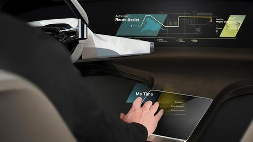 CES 2017, BMW i Inside Future concept: futuro a comandi gestuali (8)