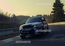 """Range Rover Sport: al Nürburgring in 8'14"""". E' record"""
