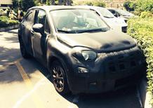 Fiat 500X: abbiamo beccato il muletto!