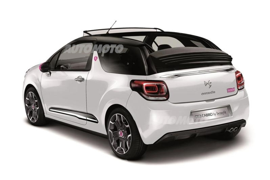 Citroen DS3 Cabrio DStyle by Benefit: una serie speciale per l'Inghilterra - News - Automoto.it