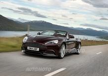 Aston Martin: un nuovo cambio a 8 rapporti per Vanquish e Rapide S