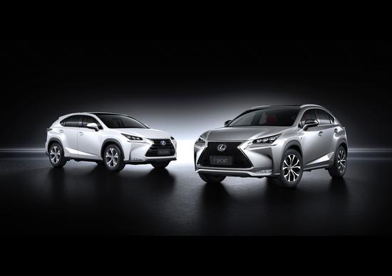 Lexus NX Hybrid: iniziata produzione