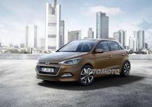 Nuova Hyundai i20: ecco le forme della seconda generazione