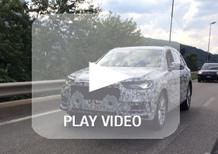 Nuova Audi Q7: il prototipo sorpreso su strada