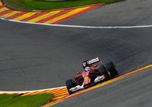 F1 Belgio 2014 e la velocità sull'Eau Rouge: ecco i piloti che hanno davvero piede