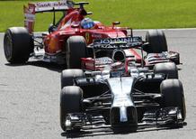 F1 Belgio 2014: Magnussen penalizzato per aver buttato Alonso sull'erba