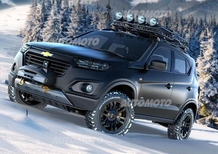 Chevrolet Niva concept: la leggenda del fuoristrada russo continua