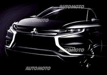 Mitsubishi Outlander PHEV Concept-S: le prime immagini
