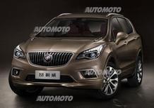 Buick Envision: nuova crossover di lusso per la Cina