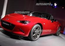 Nuova Mazda MX-5: eccola! Tutti i dettagli in diretta da Barcellona